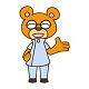 くま_笑顔左手mini.png